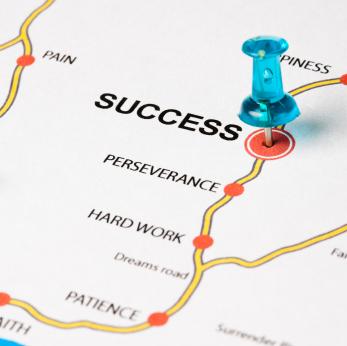 پشتکار عامل اصلی موفقیت